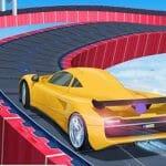 Car Sky Stunt