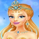 Princess Cool – Coloring Street Book Paint Game